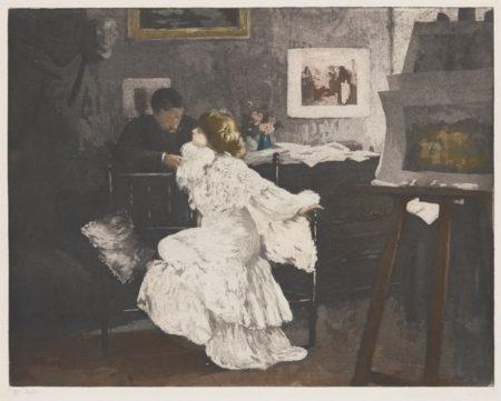 Manuel Robbe-Nocturne (Ou Le Flirt)-1906