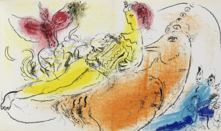Marc Chagall-The volume (Cramer 34, Mourlot 192-207)-1957