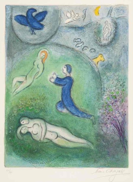 Marc Chagall-Daphnis And Lycenion-1961