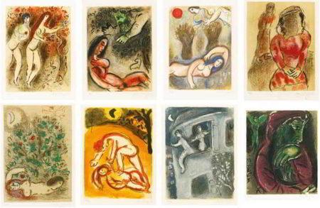 Marc Chagall-Dessins Pour La Bible-1960