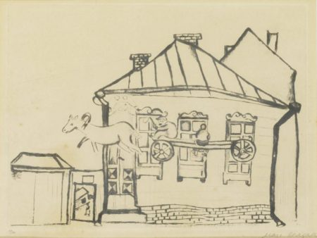 Marc Chagall-Haus In Witebsk-1922