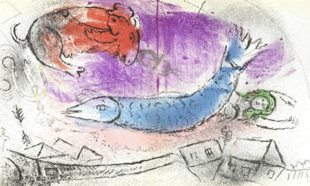Marc Chagall-Jacques Lassaigne Book vol-1957