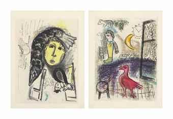 Marc Chagall-Jean Paulhan, De Mauvais sujets, Les Bibliophiles de l'Union, Paris, 1958-1958