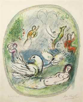 Marc Chagall-L'Age D'Or-1968