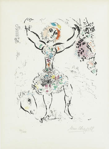 Marc Chagall-La Jongleuse-1959