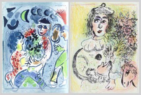 Marc Chagall-Lithographs I-VI-1960