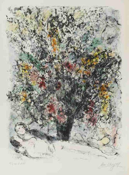 Marc Chagall-Multiflora-1974