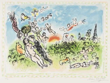 Marc Chagall-Summer's Dream-1983