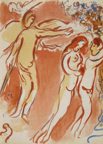 Marc Chagall-Verve Vol X, Nos 37-38. Dessins pour la Bible-1960