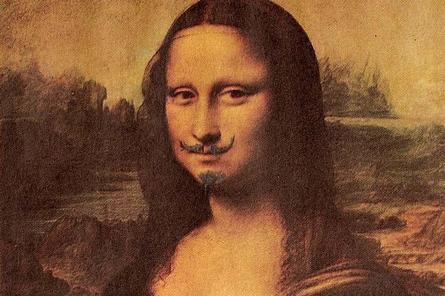 Marcel Duchamp - LHOOQ, 1919