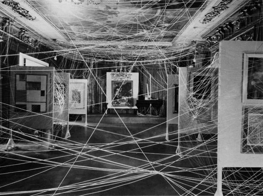 Marcel Duchamp -  Mile of String, 1942