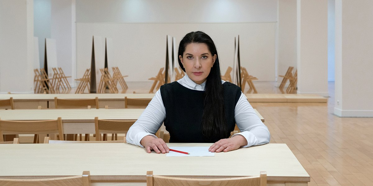 Marina Abramović - Photo of the artist - Image via cdncom
