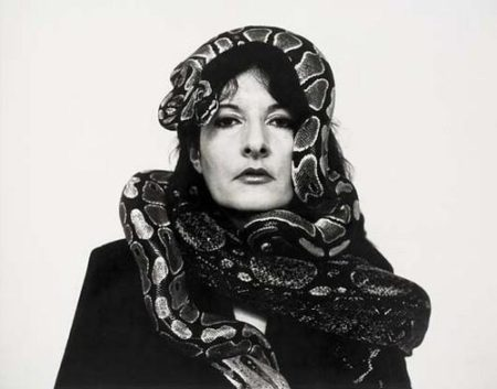 Marina Abramovic-Golden Dragon Head-1992