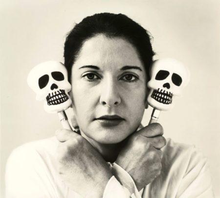Marina Abramovic-Self-Portrait with Maracas-2006