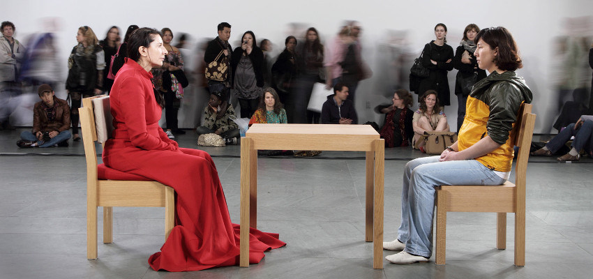 For the people at the MoMA institute in 2016, Abramovic was a whole new experience