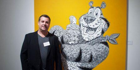 Mark Dean Veca - Photo of the artist - Image via arrestedmotioncom