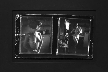 Mark Morrisroe - Double Image of Pat Hearn, 1982