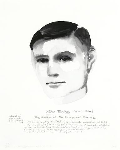 Marlene Dumas-Alan Turing-2015