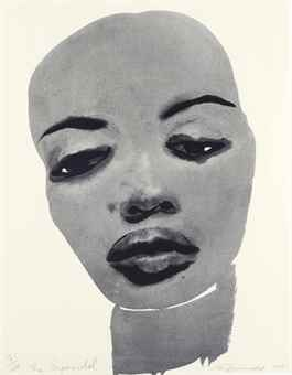 Marlene Dumas-The Supermodel-1995