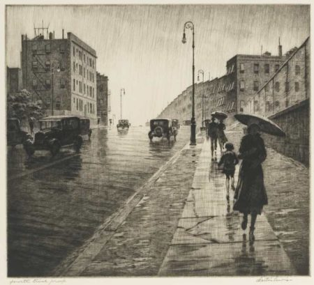 Martin Lewis-Rainy Day, Queens-1931