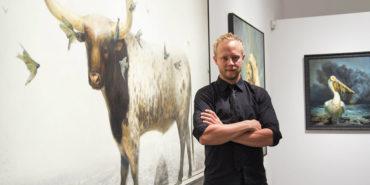 Martin Withwood - Artist Portrait, photo via arrestmotion.com