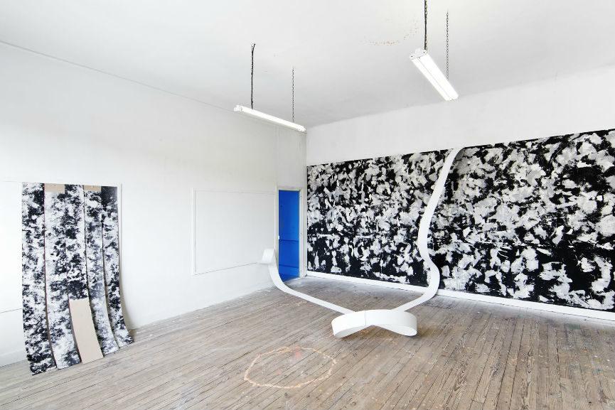 Martina Merlini installation at MAGMA gallery