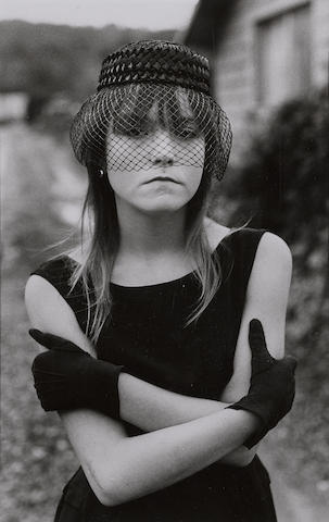 Mary Ellen Mark-Tiny in Her Halloween Costume, Seattle-1983