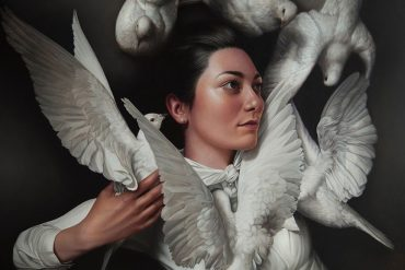 Award-Winning Portrait Artist Mary Jane Ansell at Corey Helford Gallery