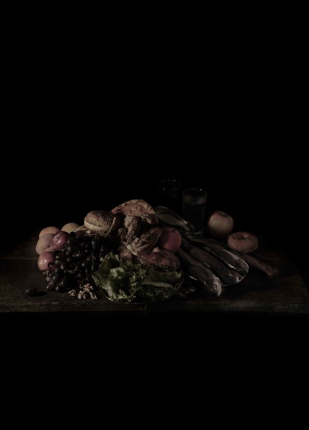 Mat Collishaw-Last Meal on Death Row, Texas (Juan Soria)-2011