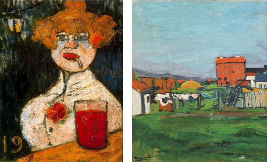Maurice de Vlaminck felt related to all of his role models and enjoyed his privacy shown in his collection