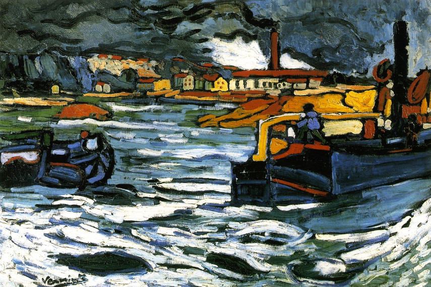 Maurice de Vlaminck paintings have been exhibited in the museums and galleries all over the world