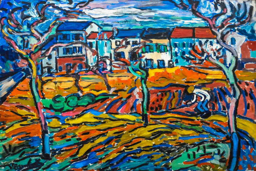 Maurice de Vlaminck - A man who wanted to do art on his own terms, painted a bridge