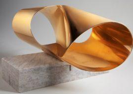 Max Bill - Endless Ribbon from a Ring I, 1960