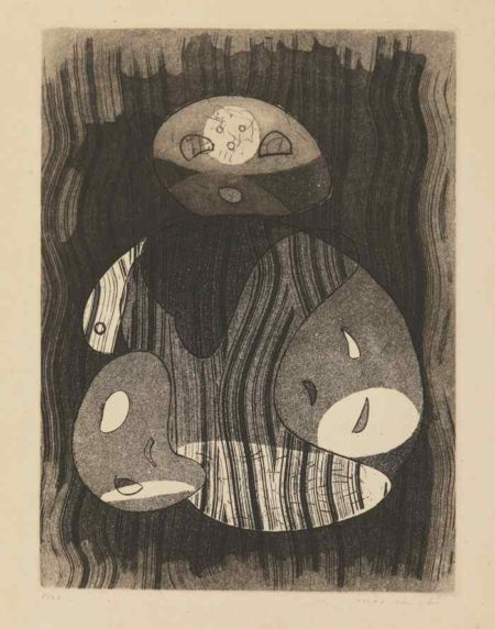 Max Ernst-Frontispiece To Mort Aux Vaches Et Au Champ D'Honneur And (Ohne Title)-1950