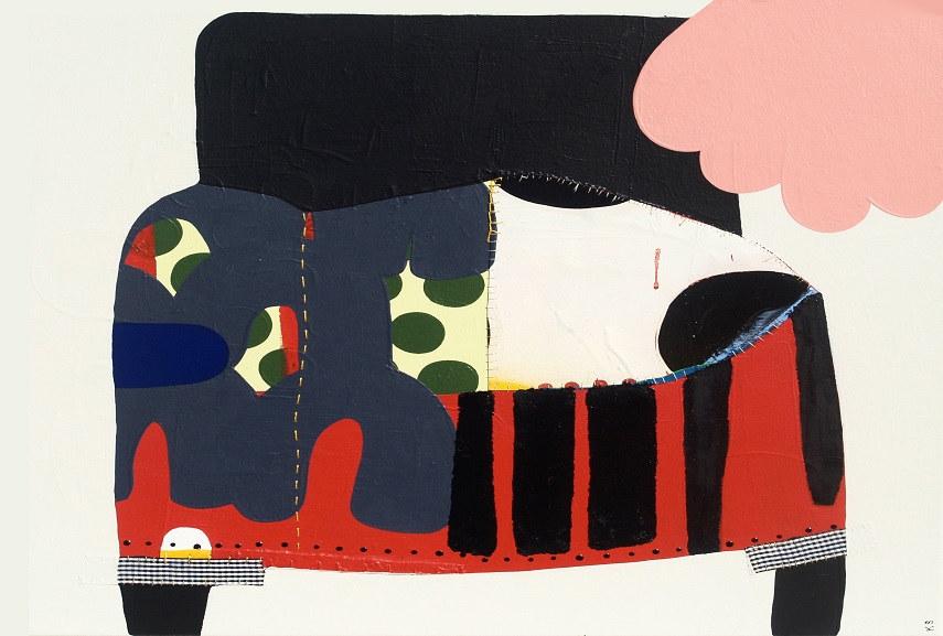 Artwork named Bootleg on view at Matthew Rachman