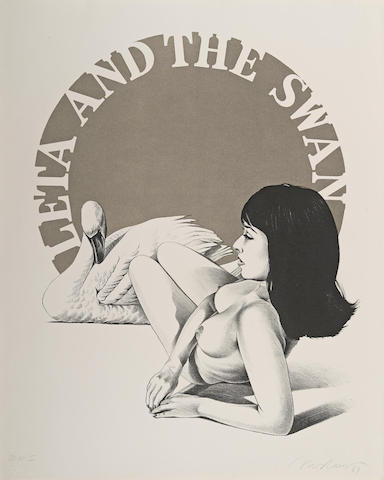Leta and the Swan-1969