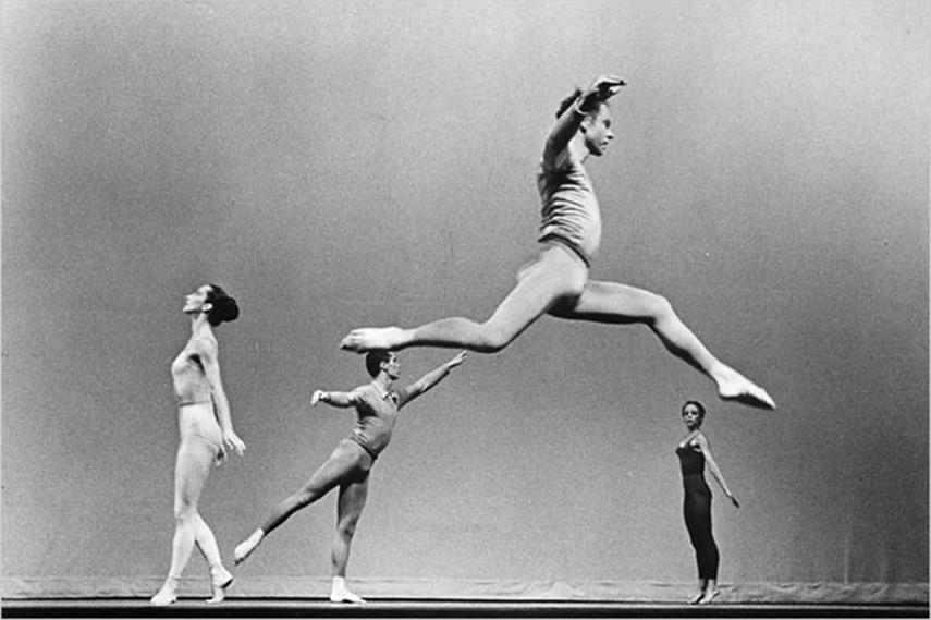 Merce Cunningham - Suite for Five, 1956-58