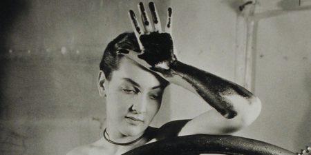 Meret Oppenheim - Erotique voilée (Veiled Erotic), 1933 - Photo Credits Man Ray