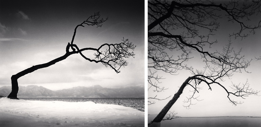Michael Kenna study work arts view in washington- new and recent, mountains in york, 1996, 2013