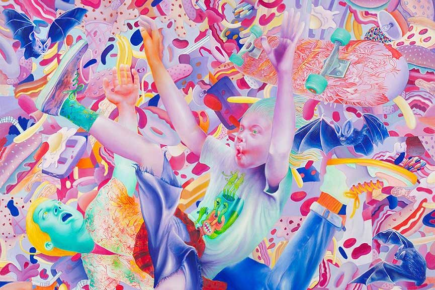 Michael Page Art Exhibition is Coming to Corey Helford Gallery