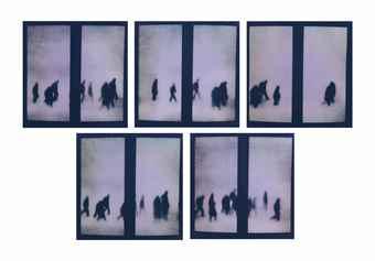 Michal Rovner-Overhang 5-2000