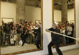 Michelangelo Pistoletto Blenheim Palace
