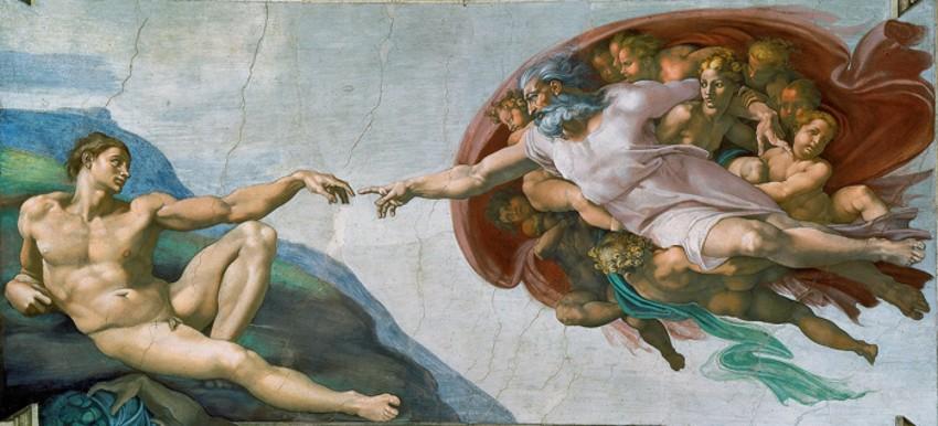 Michelangelo - The Creation of Adam, 1512