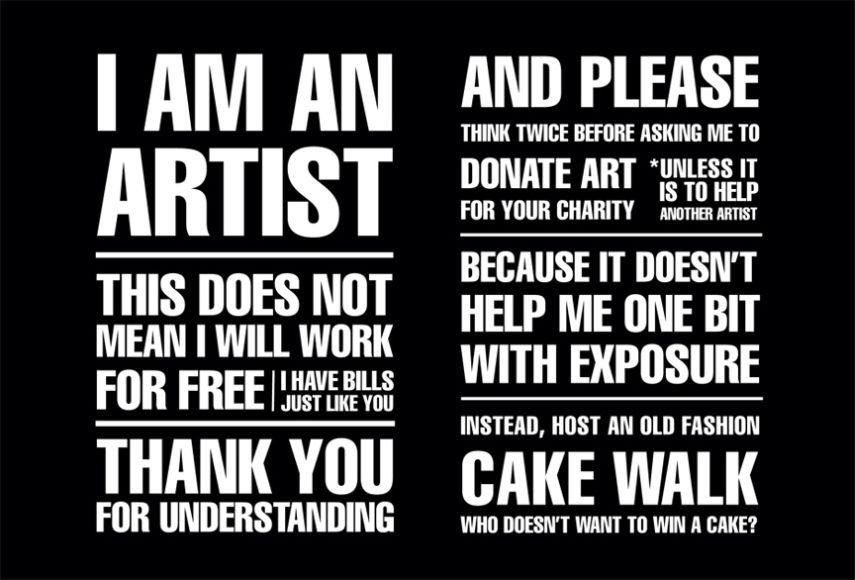Precarious labor in the arts