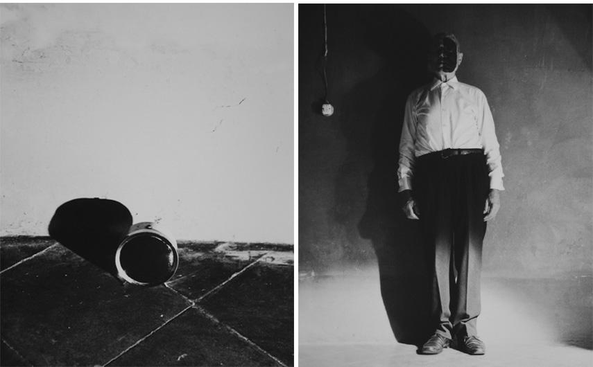 Michele Zaza - Dissoluzione e mimesi (detail), 1975. 20 b/w photographs, 30 x 24 cm each. Courtesy Galleria Giorgio Persano, Torino. Photos Archivio Michele Zaza