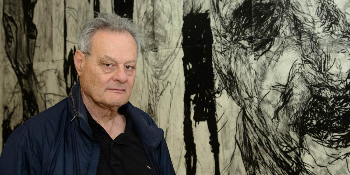 Mike Parr - Photo of the artist sydney gallery presents the new portrait exhibition- Image via thesaturdaypaper