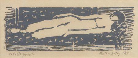 Milton Avery-Nude-1953