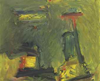 Milton Resnick-Untitled-1957
