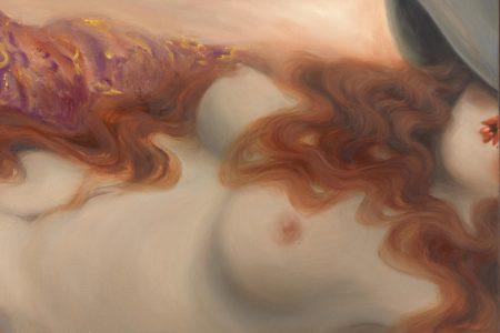 Miss Van - Flaming Hair Muse, detauil
