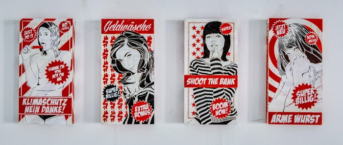 mittenimwald's advertising inspired work, 2014